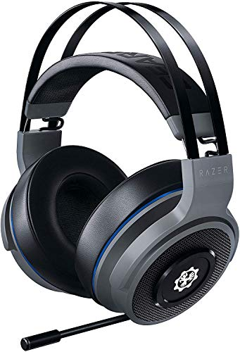 Razer Thresher for Xbox One 7.1 Surround Sound Gaming Headset: Windows Sonic Spatial Audio - Retractable Digital Microphone - LAG-Free Wireless Connection - for PC & Xbox One - Gears of WAR 5 Edition Headsets