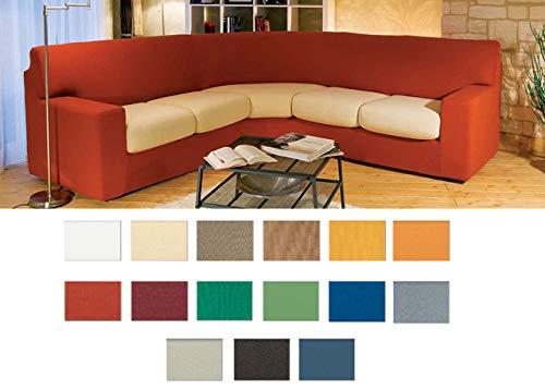 Coingrostex Genius Suit Mini Housse pour canapé d'angle, couleur unie Mini Bianco