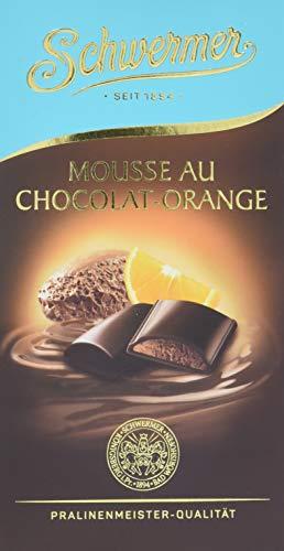 Schwermer Mousse au Chocolat-Orange-Schokolade, 10er Pack (10 x 90 g)