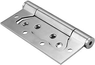 Lente scharnier, onzichtbare deur, met gesloten deur, automatisch sluitende scharnier, gratis slot-Zilver * 1