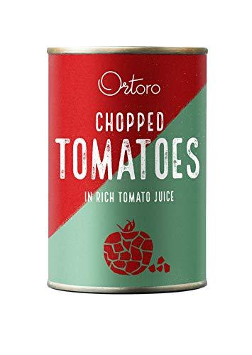 Ortoro - Polpa, passata di pomodoro rustica, 400 g, confezione da 12