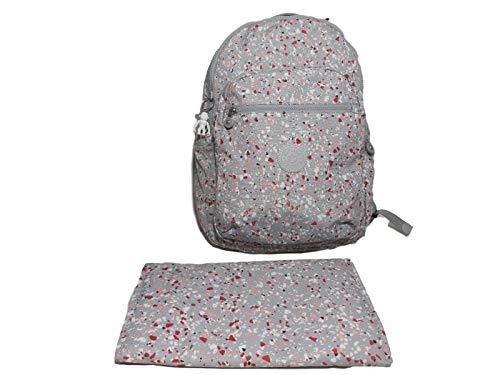 Kipling Seoul Baby Diaper Bag Backpack, Zaino Donna, con Macchie, taglia unica