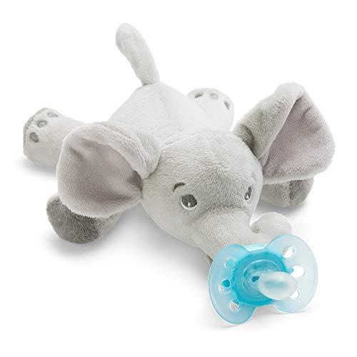 Philips Avent Peluche con chupete SCF348/13 - Peluche de elefante con chupete...