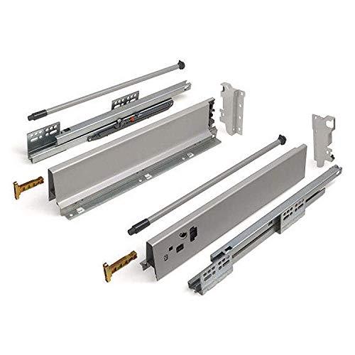 SO-TECH® Schubkastensystem grau Höhe: 135 mm Tiefe: 500 mm Schublade Schubkasten