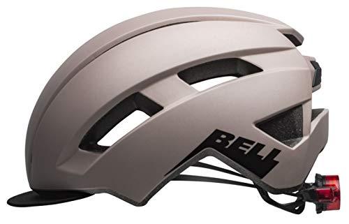BELL Daily LED City Fahrrad Helm Gr.54-61cm Cement grau 2021