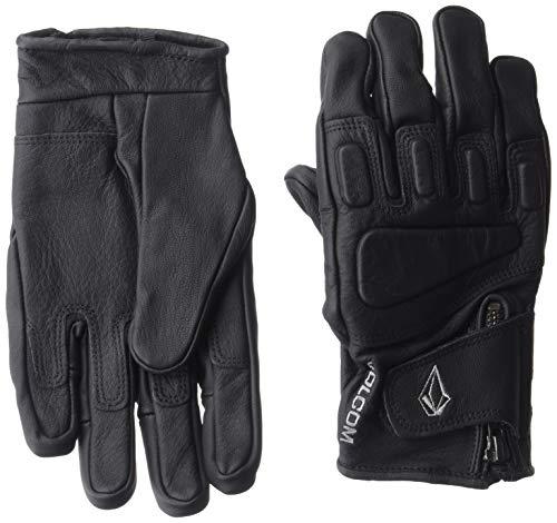 Volcom Heren Crail Lederen Sneeuwhandschoen, Zwart, Extra groot