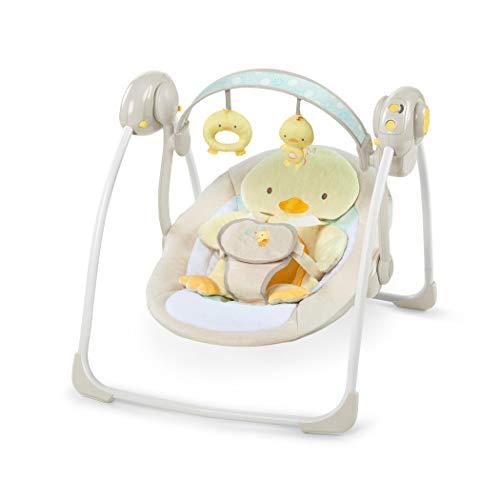 Ingenuity, Altalena Compatta Soothe 'n Delight - Quack & Cuddles