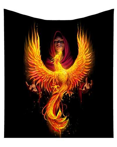 Horror-Shop Colcha De Phoenix Rising