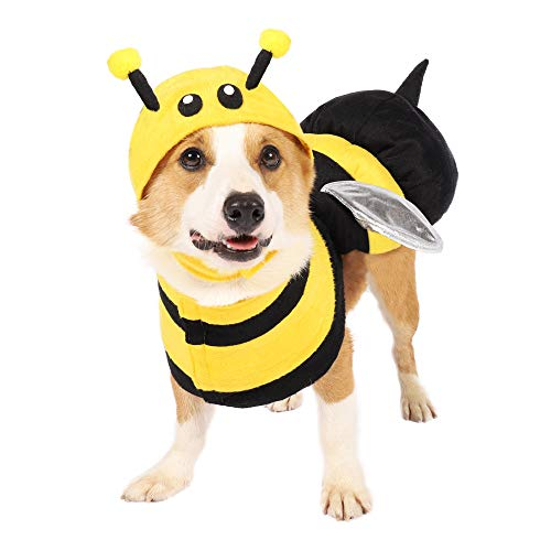 Pet Halloween Bee Dog Costume X-Large