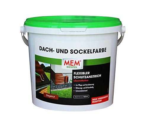 MEM 30836882 Dach- und Sockelfarbe 5 kg anthrazit