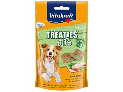 Vitakraft Treaties Bit Dental Care Friandise per Cane 120g–Confezione da 6