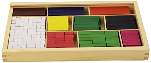 Andreu Toys 16166 Fraction Bars-308 Multicolore 32,5 x 17,5 x 4 cm