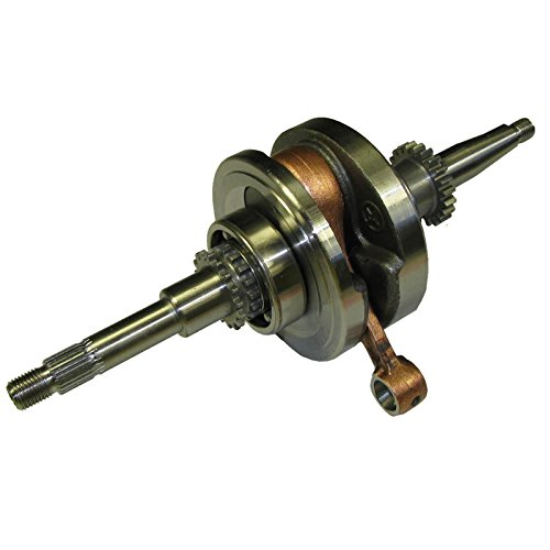 Crankshaft with Bearings Connecting Rod GY6 50cc Scooter 139QMB 17 & 16 Teeth