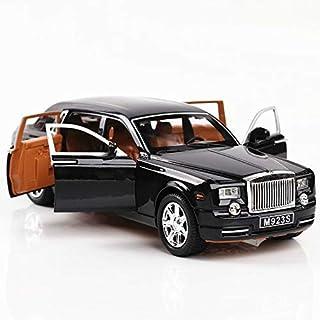 Numeo Car Model, Rolls-Royce Phantom Diecast Sound & Light & Pull Car Model, 1:24, G06141546