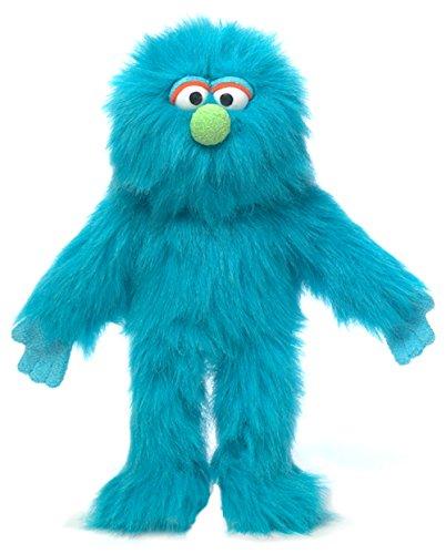 """14"""" Blue Monster, Hand Puppet"""