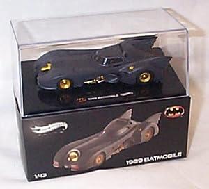 hotwheels batmobile 1989 car 1.43 scale diecast model