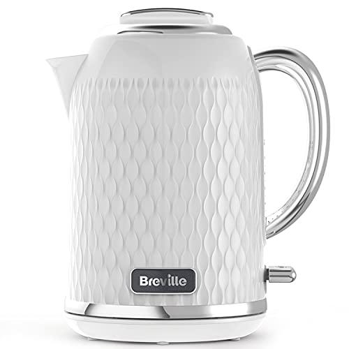 Breville Curve - Hervidor de agua (3000 W, 1,7 L) Cromo blanco.