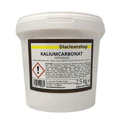 Kaliumcarbonat Pottasche K2CO3 Lebensmittelqualität E501 2,5kg