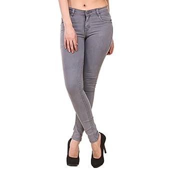 PANTOFF Women's Slim Fit Stretchable Denim Jeans