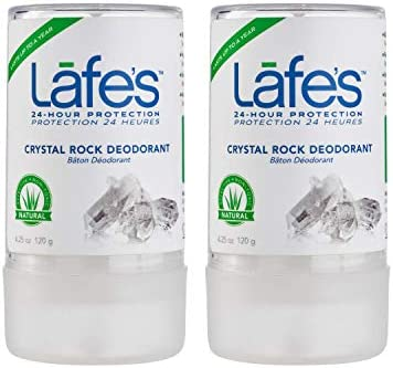 Lafe s Unscented Crystal Rock Deodorant for Women Men Vegan Cruelty Free Gluten Free Paraben product image