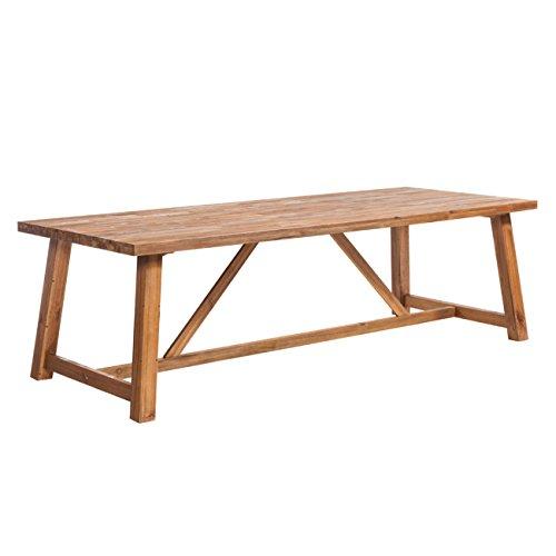 OUTLIV Marbella Dining-Tisch für den Garten, Gartentisch 250x100 cm Akazie FSC