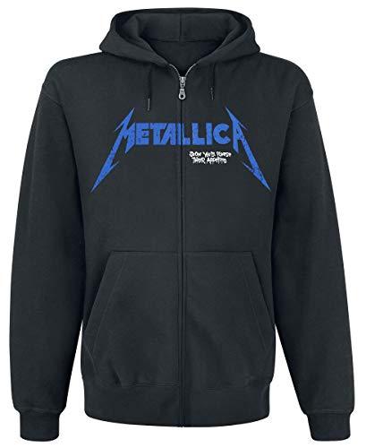 Metallica Doris Sudadera capucha con cremallera Negro XL