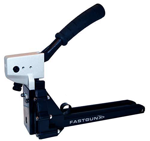 Grapadora Manual para el cerrado de cajas cartón ondulado FASTGUN FG 35/18 Pro + 1.000 Grapas + 1 Sacagrapas