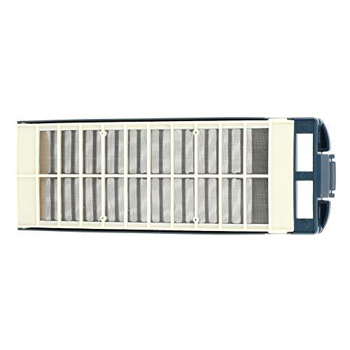Filtro de reemplazo, hecho de plástico 23.3 x 8 cm Calidad Filtro de polvo refrigerador Filtro de agua