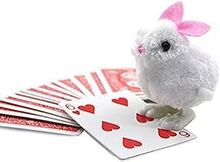 ピョンピョンうさぎちゃんのカード当て (説明動画付) ラビットはカードを探す うさぎをトランプを探す テレパシー パーカー予言マジック 近景マジック道具