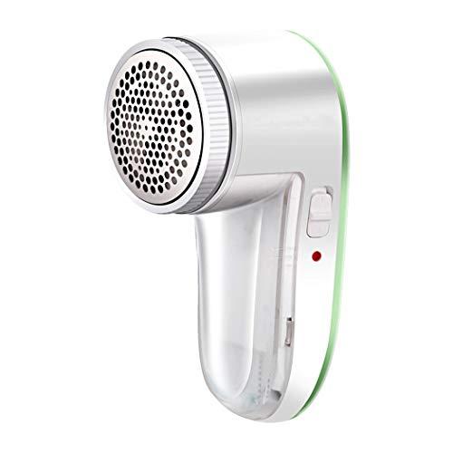 GJFeng Super Puissance Cheveux Tondeuse Maison Charge Charge Machine À Raser Vêtements À La Balle USB Rasoir Électrique Blanc Vert Portable (Couleur : Green, taille : 14.7 cm*9.3 cm*7.0 cm)