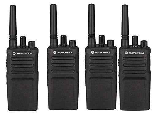 Motorola XT420KIT4 PMR Funkgerät (Reichweite bis zu 9 km), 4 Einheiten
