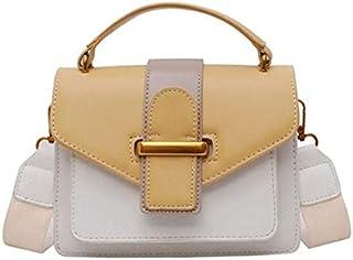 SODIAL Summer Color Women'S Leather Messenger Bag Ladies New Shoulder Messenger Bag Ladies Purse and Handbag Green
