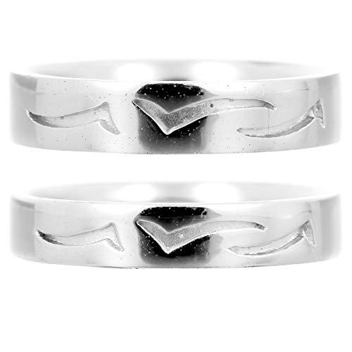 [ココカル]cococaru ペアリング プラチナ 結婚指輪 プラチナ Pt900 2本セット マリッジリング 日本製 (レディースサイズ9号 メンズサイズ20号)