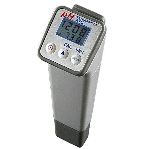 Generisches PH-Wert und Temperatur-Messgerät mit ATC-Funktion, automatisch oder manuell 3-Punkt-Kalibrierung