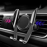 KOKOX Support Téléphone Voiture, Ajustable Auto Rotation 360° Grille d'Aération...