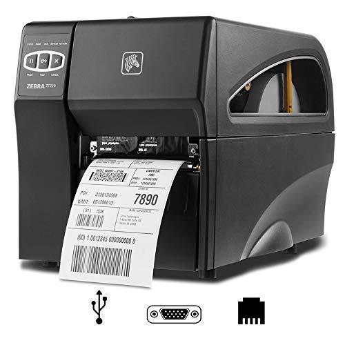 Zebra ZT220 (ZT22042-T0E200FZ) Label Printer zwart