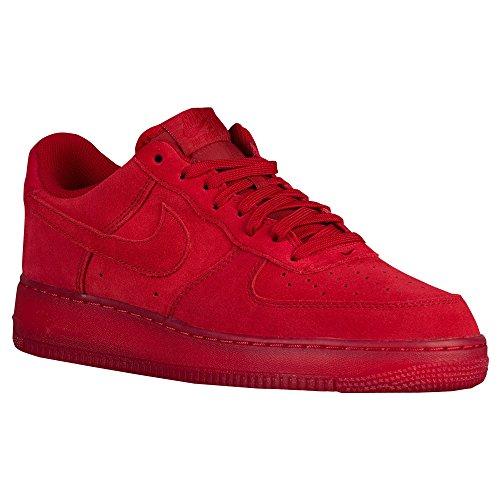 [ナイキ] 06.0 Solar Red/Solar Red air エア force エアフォース 靴 シューズ 1 ワン lv8 men's メンズ 男性用 - red レッド/red 【並行輸入品】