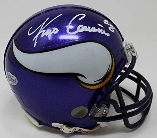 Signed Kirk Cousins Mini Helmet - Beckett Bas #n28415 - Beckett Authentication - Autographed NFL Mini Helmets