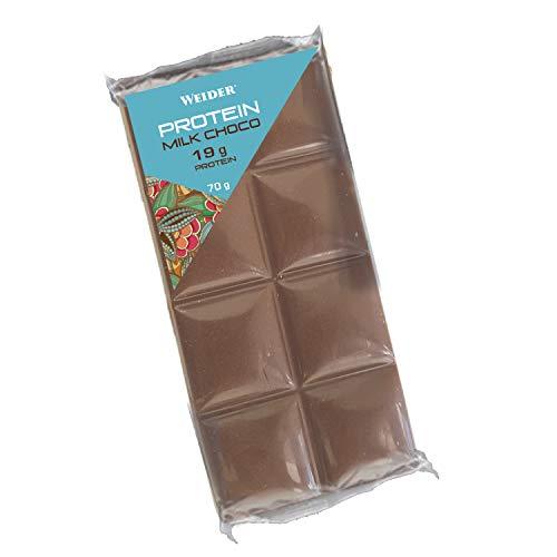 Weider Protein Milk Choco. Tableta de Chocolate con leche con 27% de proteína. Edición Limitada.