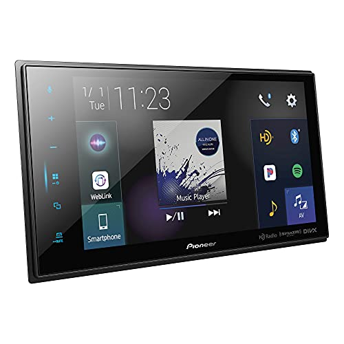 Pioneer DMH-C5500NEX Modular 8'' Capacitive Multimedia Receiver with Apple CarPlay, Android Auto, Built-in Bluetooth, SiriusXM Ready, Remote Control Included
