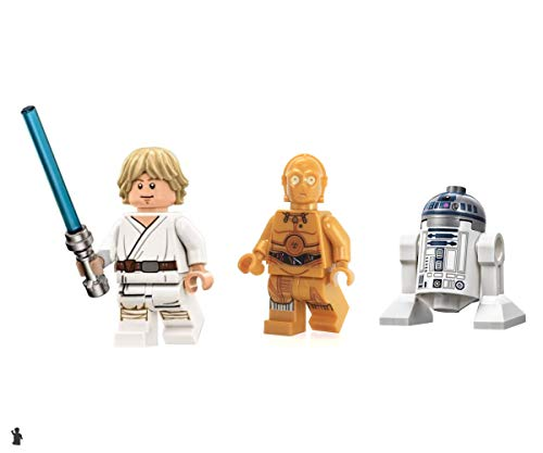 LEGO Star Wars Luke Skywalker Tatooine R2 D2 and C3PO