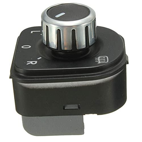 Interruptor de Ajuste de Espejo Cromado SYDSYJ para Golf VW GTI MK5 MK6 Jetta 5 Rabbit Passat B6