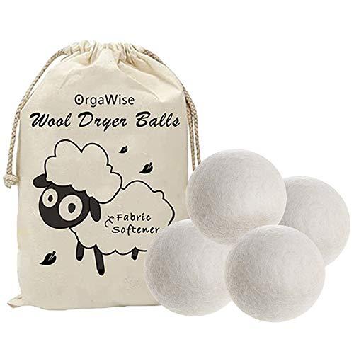 OrgaWise bola lavadora Bolas de Lana Secador de Lana de Bolas de Lana Bolas Reutilizables