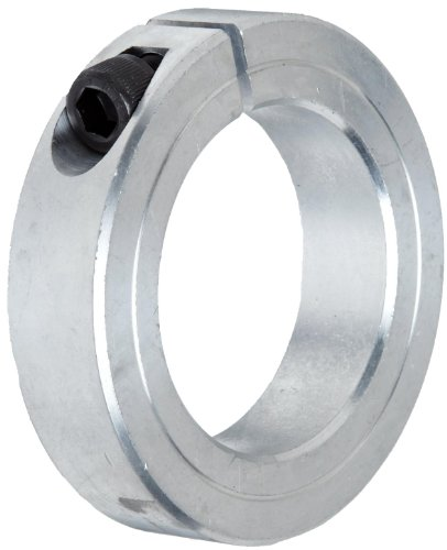 Climax Metal 1C-200-A Aluminum One-Piece Clamping Collar, 2