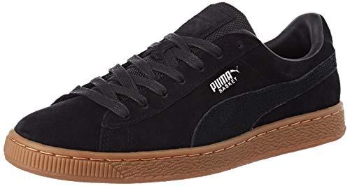 Puma Basket Classic Weatherproof, Zapatillas para Mujer, Negro Black Silver, 38 EU
