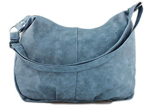 Star-Trends zwarte handtas dames schoudertas shopper tas tas schoudertas hengseltas dames tas schooltas tas tas voor school studie 45/32/17 cm (breedte x hoogte x diepte)