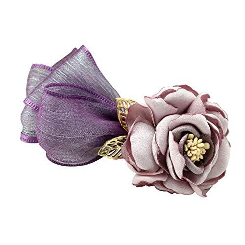 Haarklemmen hoofdbanden haarsieraad dames professionele haarspeld sieraden gebonden haar tiara mooi hoofd bloem eendenspeld clip temperament top clip