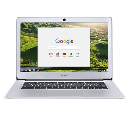 Newest Acer 14inch Flagship Chromebook, Intel Quad-Core Atom E8000 Up to 2.00GHz Processor, 4GB RAM,32GB SSD, WiFi, HDMI, Chrome OS