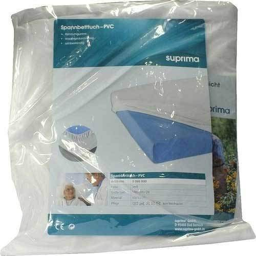 SUPRIMA Spannbetttuch 3066 PVC 100x200 cm weiß 1 St