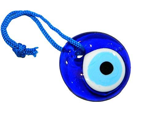 4cm Lucky Evil Eye Nazar Boncuk Türkische Griechischen aus Glas zum Aufhängen Viel Glück Schutz